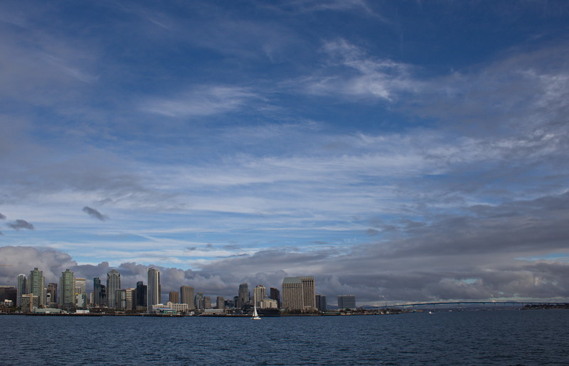 Skyline and Coronado Bridge