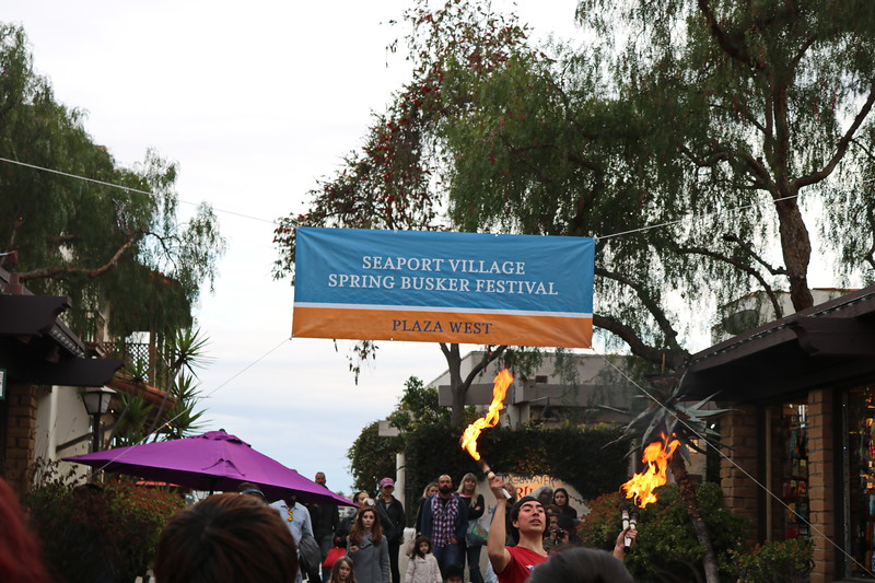 Seaport village Spring Busker Festival