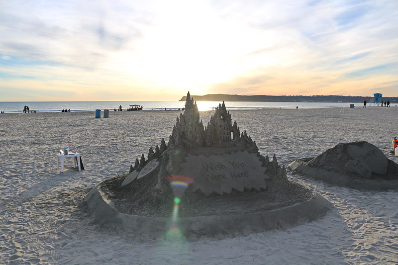 "Sand Castle ""Which You Were Here"""