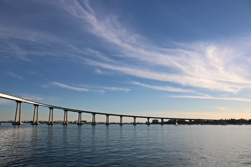Coronado Bridge onto the Island