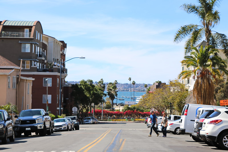 View of the San Diego Bay