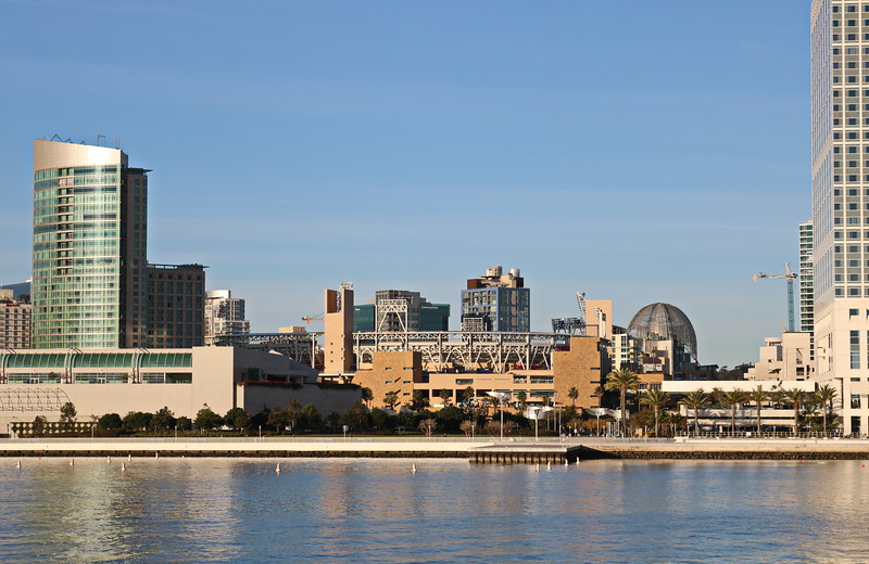 View of Downtown, Convention Center, and Stadium