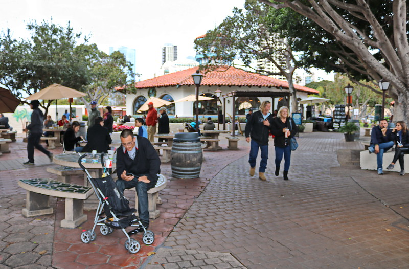 Family Time at Seaport Village