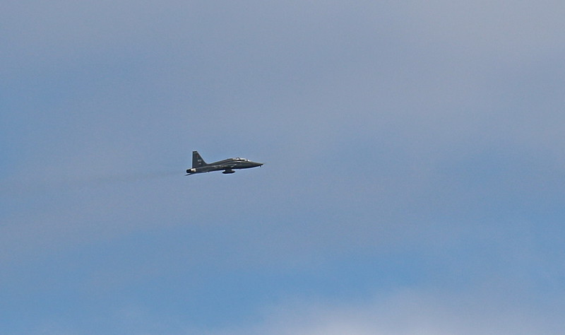 Military Jet over San Diego