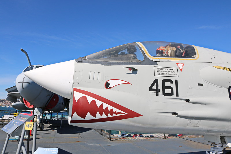 F-8 Crusader, Fighter with a Message