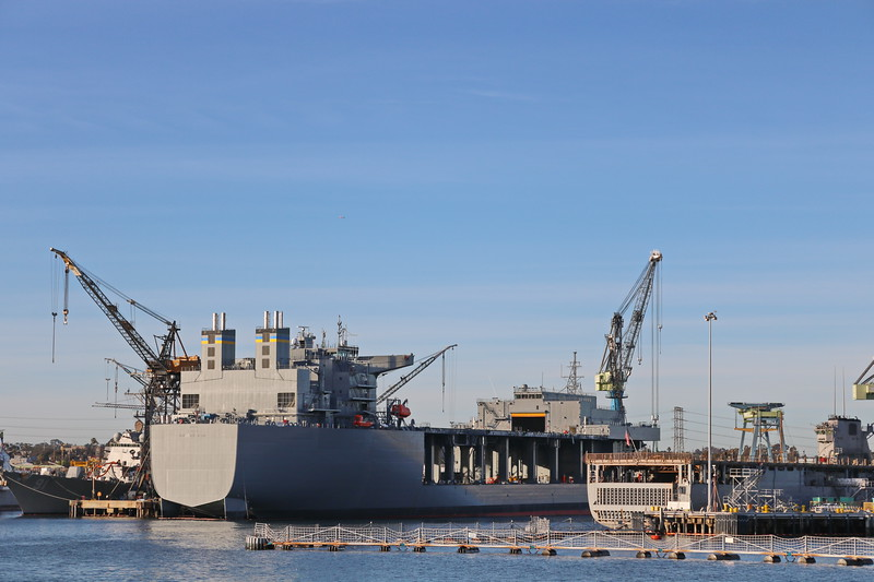 Naval Shipyard for the Pacific Fleet