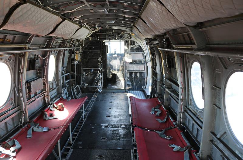 UH-1 Huey Gunship, Assault Helicopter Interior