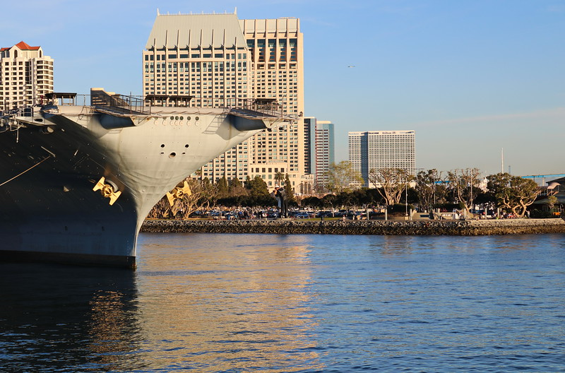 USS Midway, Rear Flight Deck