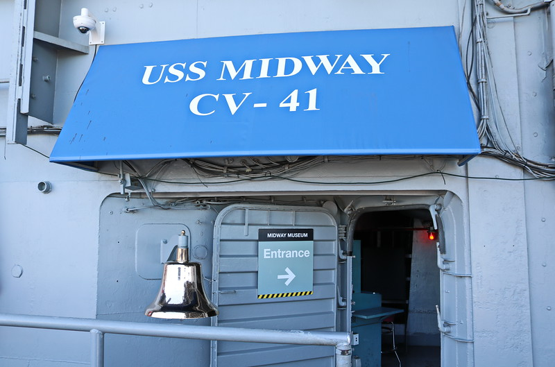 Midway Museum Entrance