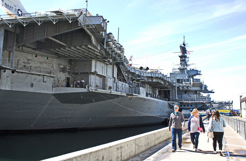 USS Midway Aircraft Carrier and Museum
