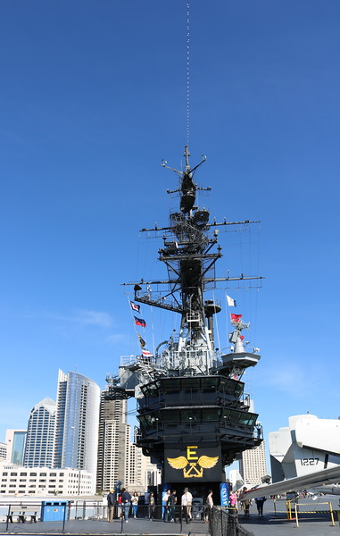 Flight Deck and Communication Tower