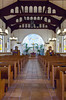 The interior sanctuary of the Immaculate Conception Church in historic Old Town, San Diego, California, USA.