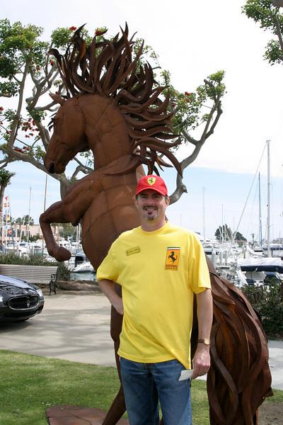 Ferrari at Spanish Landing, Car Show, San Diego, California