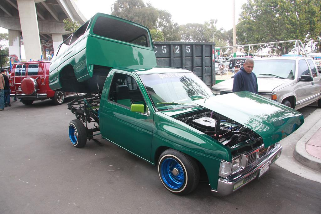 Low Riders every April at Chicano Park San Diego, really a great event, spectacular cars, interesting people to talk with about their cars.