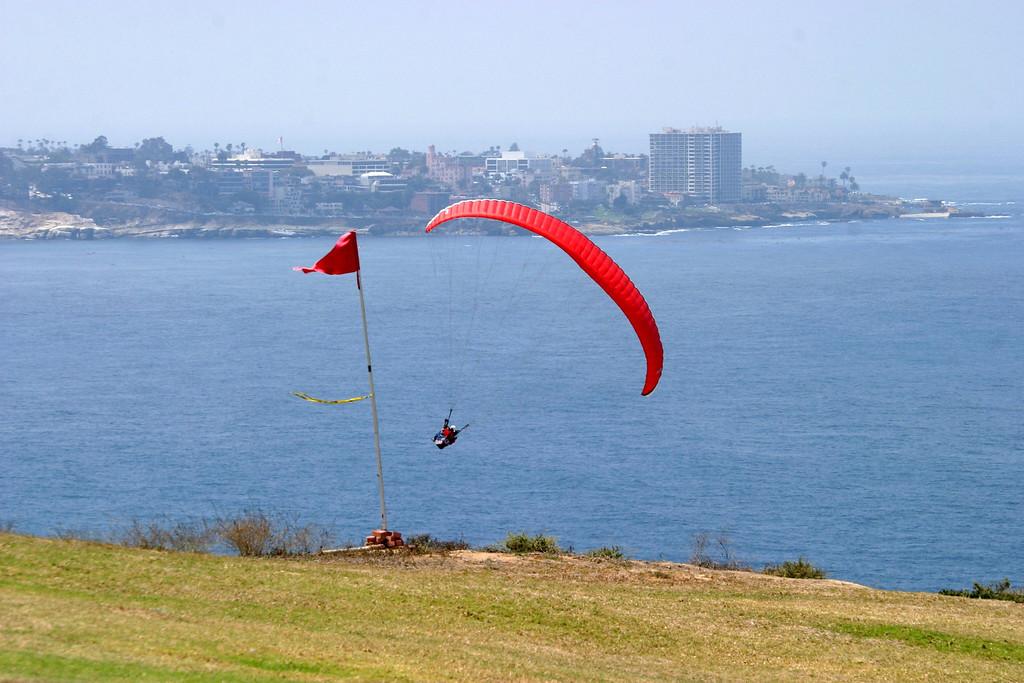 Paragliding, Torrey Pines Glider Port, San Diego, California