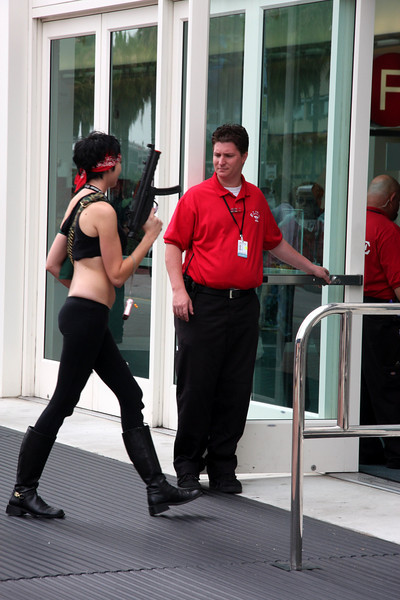 event security was very high and very detailed! San Diego Comic Con, San Diego