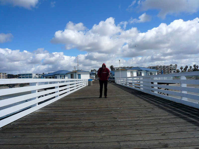Crystal Pier, Pacific Beach, San Diego , California