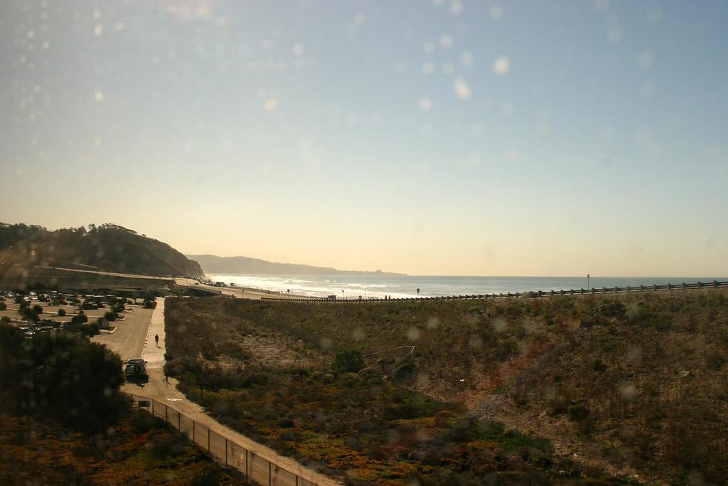 San Diego - San Juan Capistrano train ride, California