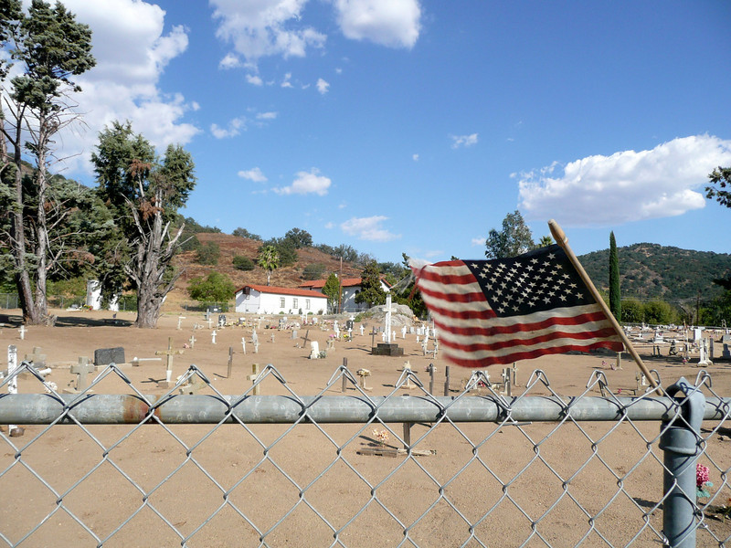 Cemetery, Santa Ysabel Mission
