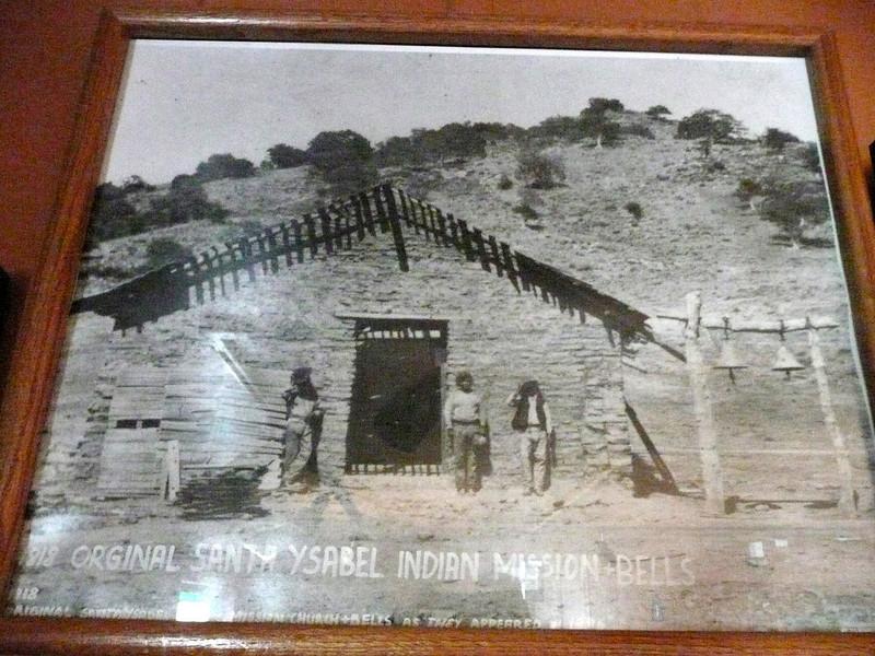 Santa Ysabel Mission in 1818