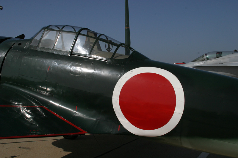 Japanese Zero, Speed Festival at North Island Naval Air Station, San Diego, California