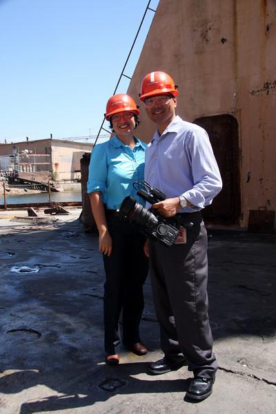 Port Authority film crew.