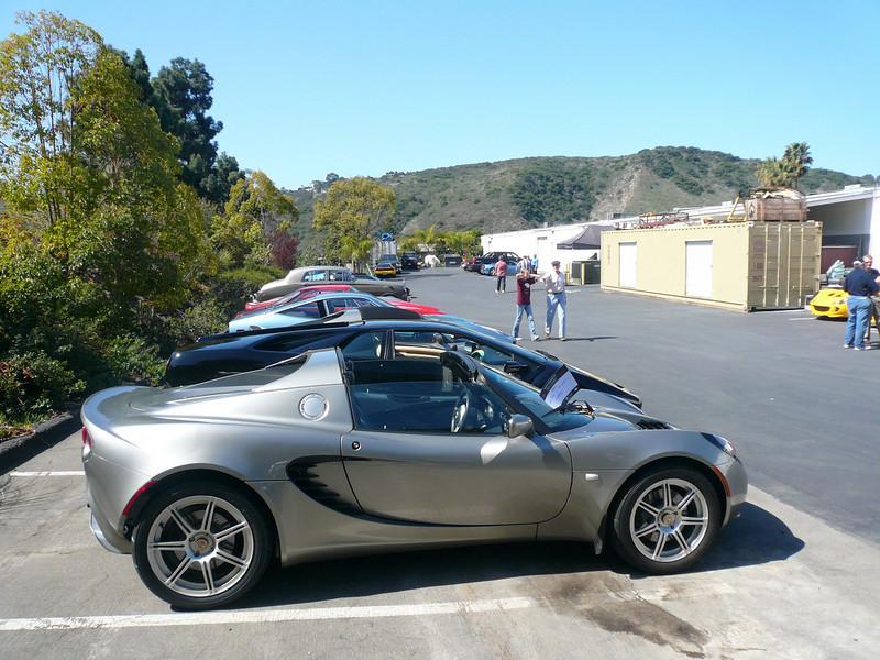 my 2005 Elise Symbolic Car Show, San Diego California