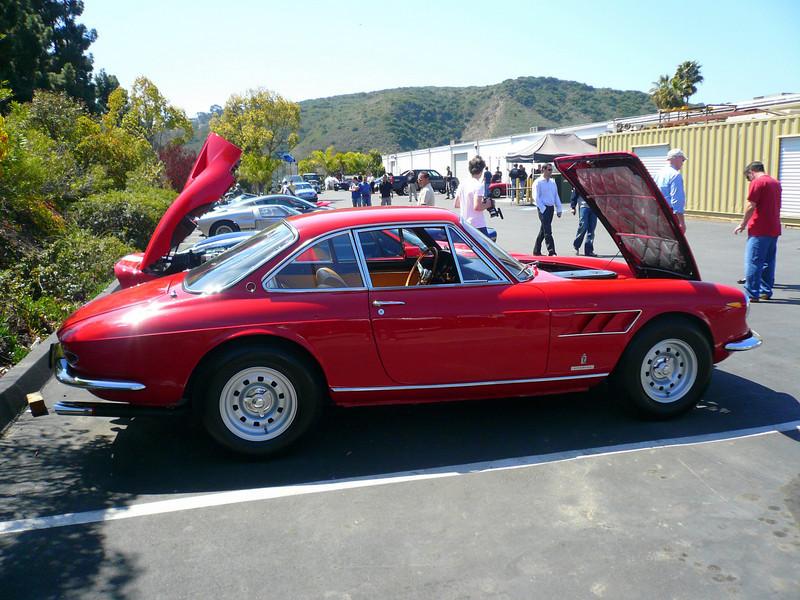 Rob's Ferrari. 330 GTC Symbolic Car Show, San Diego California