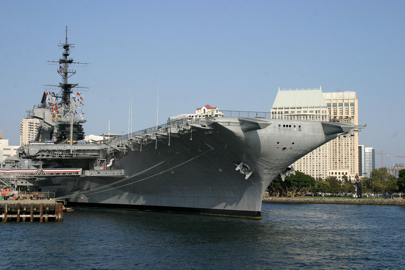 "The USS Midway CVB-41 was the third to carry the name and was launched 20 March 1945 and was retired in 1997. <br /> For more visit: <a href=""http://www.chinfo.navy.mil/navpalib/ships/carriers/histories/cv41-midway/cv41-midway.html"">http://www.chinfo.navy.mil/navpalib/ships/carriers/histories/cv41-midway/cv41-midway.html</a> CVB-41"