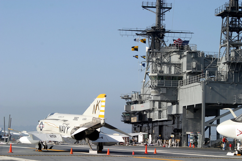 USS Midway Aircraft Carrier, San Diego, California CVB-41