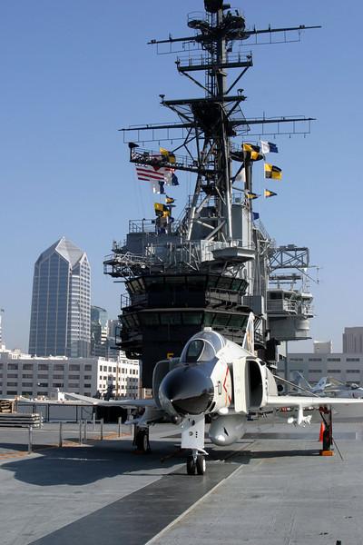 USS Midway Aircraft Carrier, San Diego, California CVB-41
