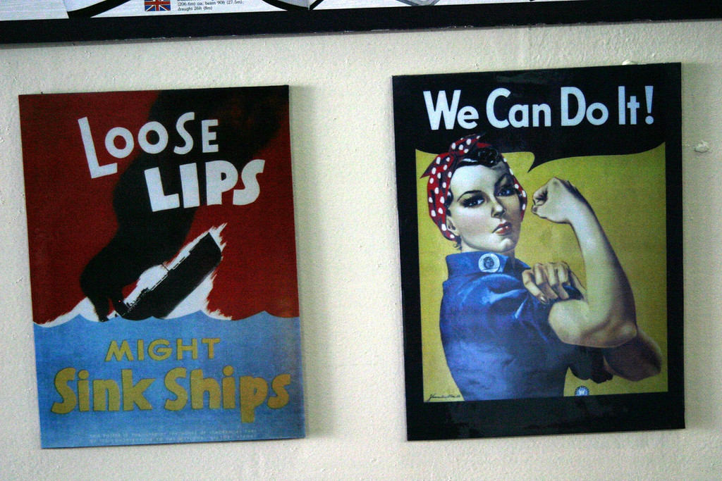WWII posters, USS Midway Aircraft Carrier, San Diego, California CVB-41