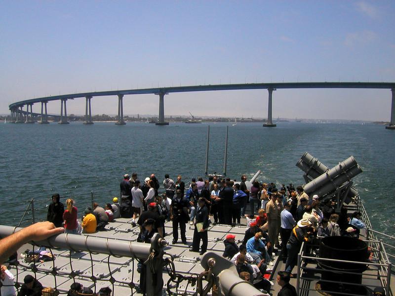 USS Shiloh (CG 67), San Diego, California