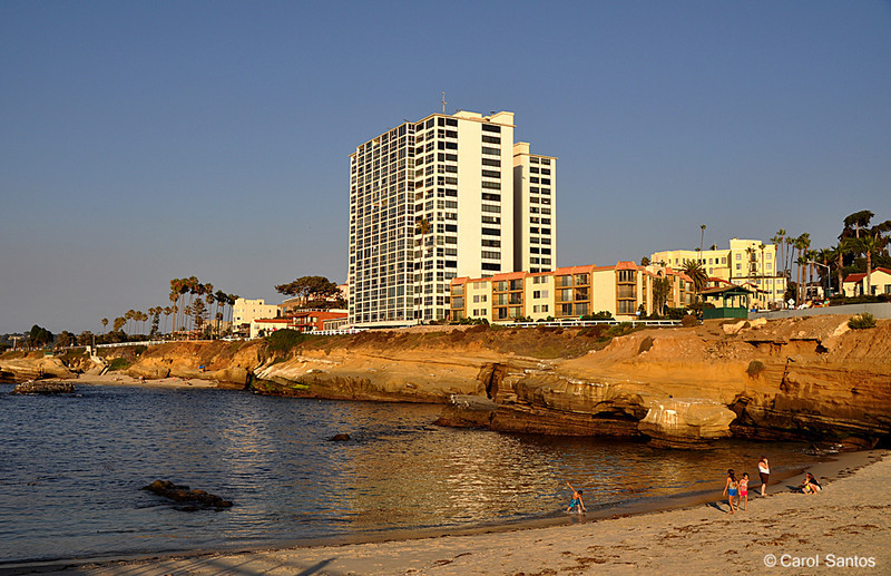 Old Hotel at LaJolla Beach