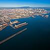 old wharves and harbor San Francisco