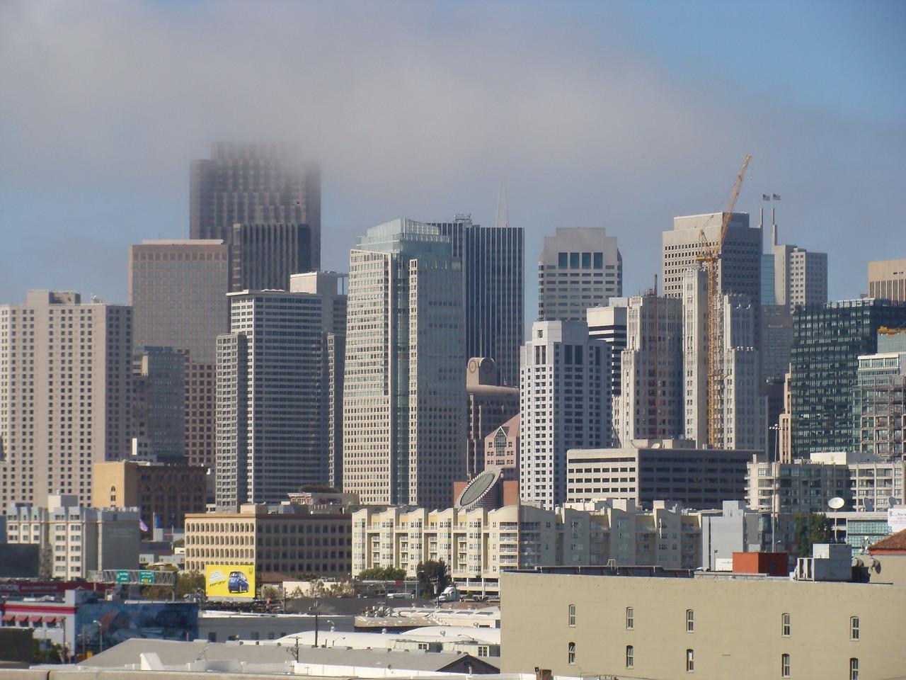 Fog Rolls into San Francisco
