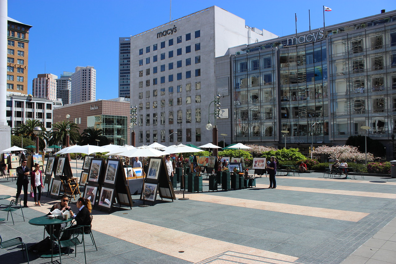 Union Square Outdoor Art Market
