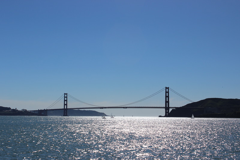 Golden Gate Bridge in Sunlight
