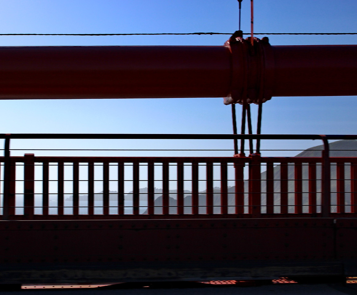 Golden Gate Bridge Guard Rail