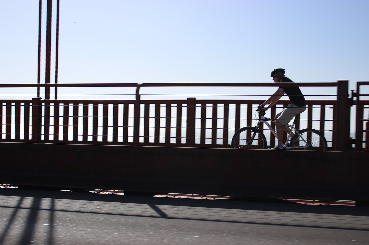 Biking on the Bridge