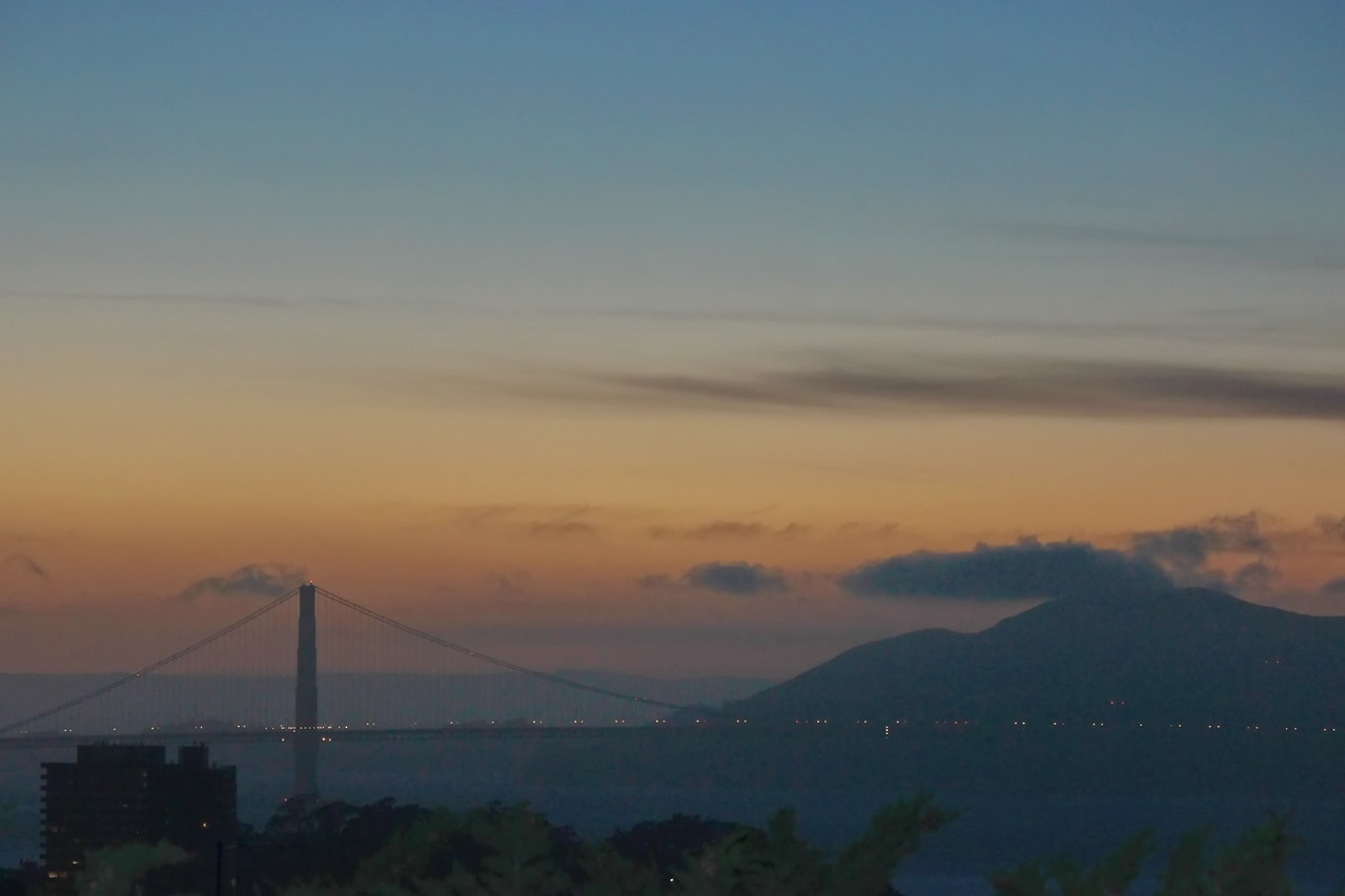 Golden Gate Bridge at Sundown