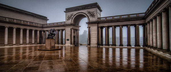 Legion of Honor in the Fog