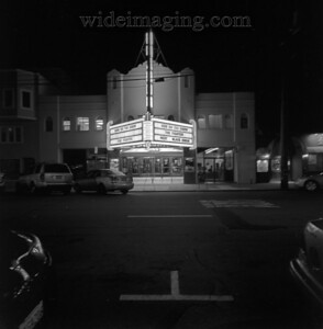 San Francisco, 3630 Balboa Street, The New Balboa Theater (1926) still playing great films, December 30, 2010.