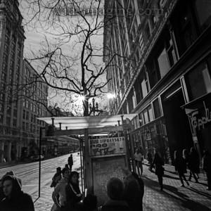 Market Street by Grant Avenue, December 31, 2010.