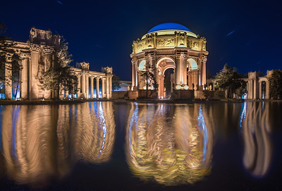 Merlins Pond-Palace of Fine Arts