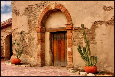Mission Door San Juan Capistrano CA