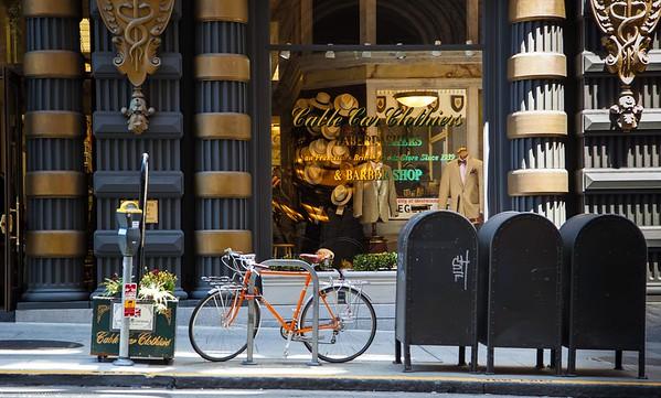 A Hebberdashery Storefront on Sutter Street