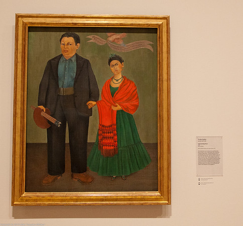 Frida and Diego Rivera, by Frida Kahlo