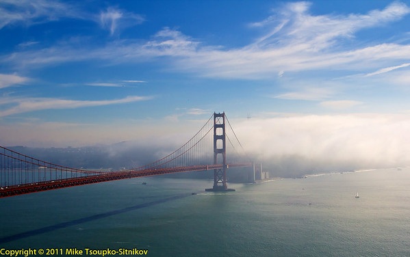 San Francisco. Golden Gate