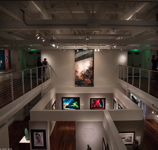 Eyvind Earle Exhibition at Walt Disney Museum at Presidio